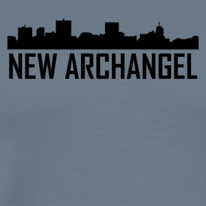 New Archangel Alaska City Skyline - T-shirt premium pour hommes