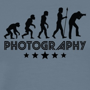Retro Photography Evolution - Men's Premium T-Shirt