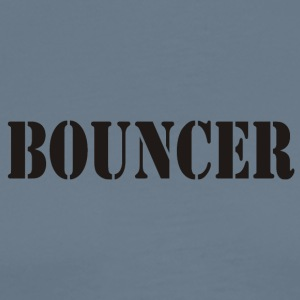 bouncer back front - Men's Premium T-Shirt