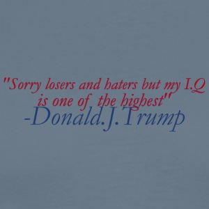 Donald's IQ - Men's Premium T-Shirt