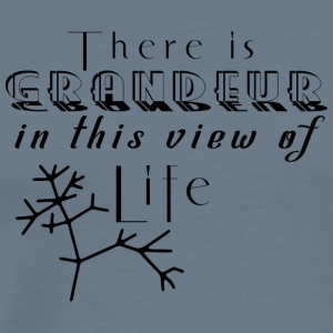 There is grandeur in this view of life - Men's Premium T-Shirt