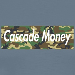 Cascade money camo - Men's Premium T-Shirt