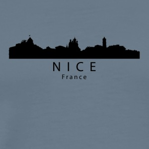 Nice France Skyline - Men's Premium T-Shirt