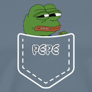 pepe in a pocket - Men's Premium T-Shirt