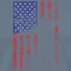 bow flag seperated2 - Men's Premium T-Shirt