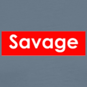 Savage / Supreme tshirt. - Men's Premium T-Shirt