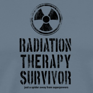 Radiation Therapy Survivor Black - Men's Premium T-Shirt