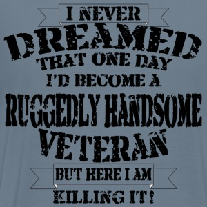 Grumpy Old Veteran - Men's Premium T-Shirt