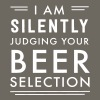 I am silently judging your beer selection - Men's Premium T-Shirt