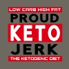 Low Carb High Fat Proud Keto Jerk Ketogenic Diet - Men's Premium T-Shirt