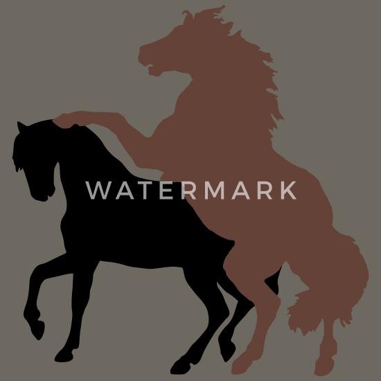 Mating Horses Men's Premium T-Shirt | Spreadshirt