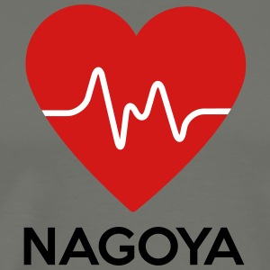 Heart Nagoya - Men's Premium T-Shirt