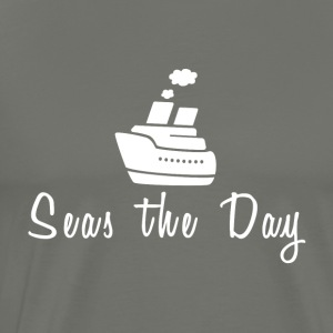 Seas The Day Cruise T-Shirt - Men's Premium T-Shirt