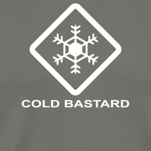 Cold Bastard - Men's Premium T-Shirt