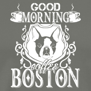 Boston Terrier Shirt - Men's Premium T-Shirt