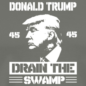 Donald Trump Drain The Swamp - Men's Premium T-Shirt