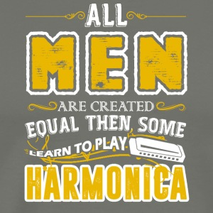 Some Men Learn To Play Harmonica Shirt - Men's Premium T-Shirt