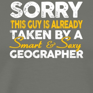 Smart And Sexy Geographer T Shirt - Men's Premium T-Shirt