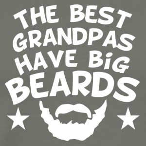 The Best Grandpas Have Big Beards - Men's Premium T-Shirt
