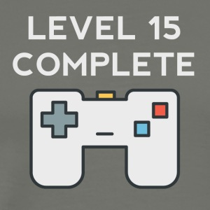 Level 15 Complete 15th Birthday - Men's Premium T-Shirt