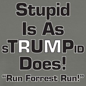 Stupid Is As Stupid (Trump) Does - Men's Premium T-Shirt