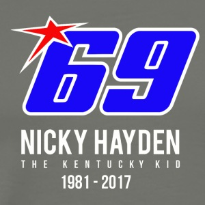 nicky Hayden RIP - Men's Premium T-Shirt