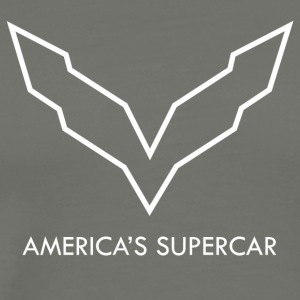 America s Supercar [WHITE] - Men's Premium T-Shirt