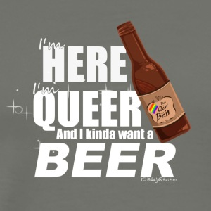 I want a Beer - Men's Premium T-Shirt