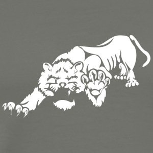 wild_laying_lion - Men's Premium T-Shirt