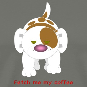 Hazey fetch me my coffee. - Men's Premium T-Shirt