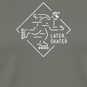 Later Skater - Men's Premium T-Shirt