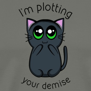 Plotting your Demise - Men's Premium T-Shirt