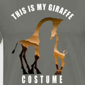 costume giraffe cute Love Dschungel hipster LOL - Men's Premium T-Shirt