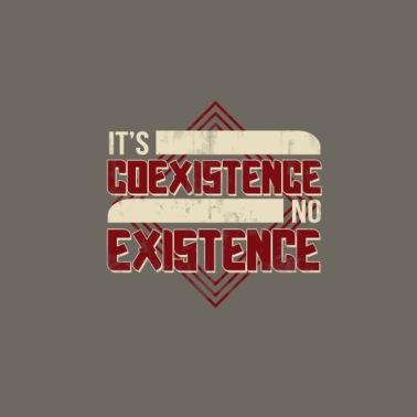 07c54d3c84886 coexist - Men s Premium T-Shirt