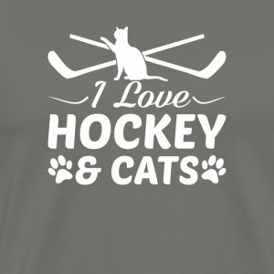 I Love Hockey And Cats Hockey Cats Love