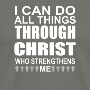 I Can Do All Things Through Christ Who Strengthen