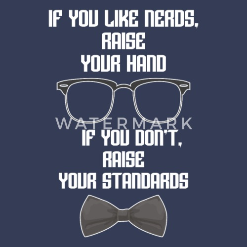 you might be a nerd if