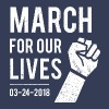 March For Our Lives - Protest Tee - Men's Premium T-Shirt