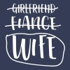Girlfriend Fiance Wife - Men's Premium T-Shirt