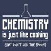 Chemistry is like cooking but don't lick the spoon - Men's Premium T-Shirt