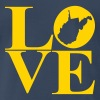wv love - Men's Premium T-Shirt