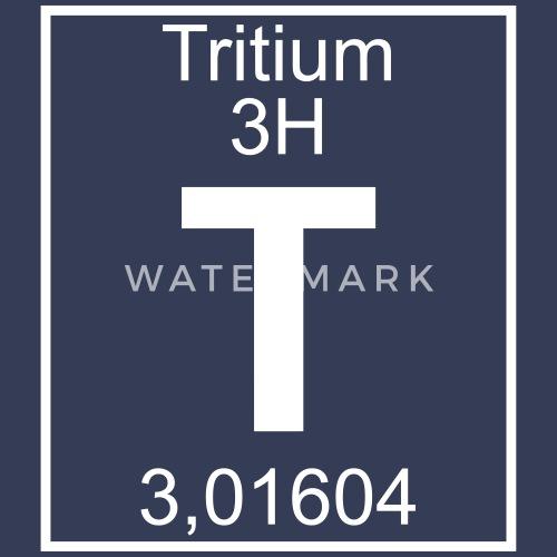 T Tritium Element 3h Pfll By Elementaltable Spreadshirt
