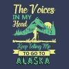 The voices in my head keep telling me to go Alaska - Men's Premium T-Shirt