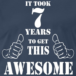 7th Birthday Get Awesome T Shirt Made in 2010 - Men's Premium T-Shirt
