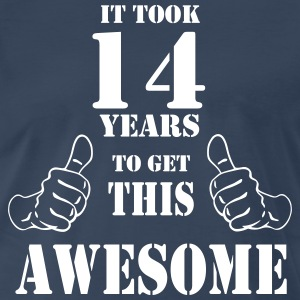 14th Birthday Get Awesome T Shirt Made in 2003 - Men's Premium T-Shirt