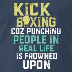 Funny Sports Quote about Kickboxing