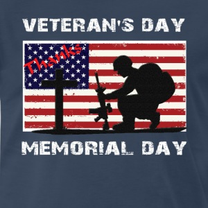 memorial day thank T-shirt - Men's Premium T-Shirt