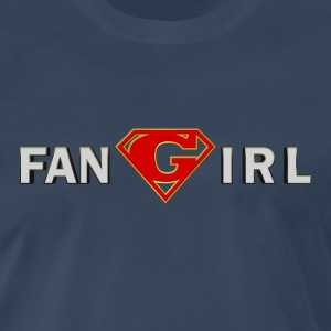 Supergirl - Fangirl - Men's Premium T-Shirt