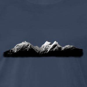 Mountain Skyscape - Men's Premium T-Shirt