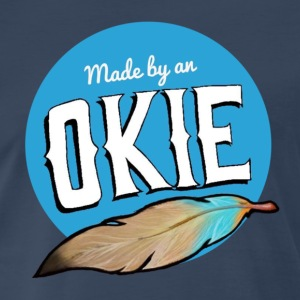 Made by an Okie - Men's Premium T-Shirt